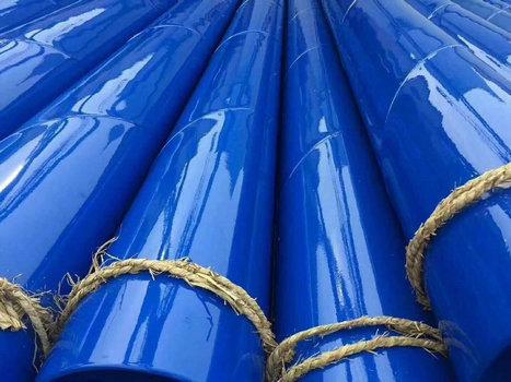 山东内外聚乙烯防腐钢管哪里能做随时考察