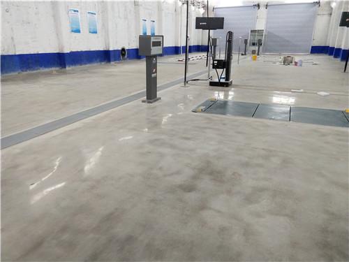 山东厂房固化地坪施工流程