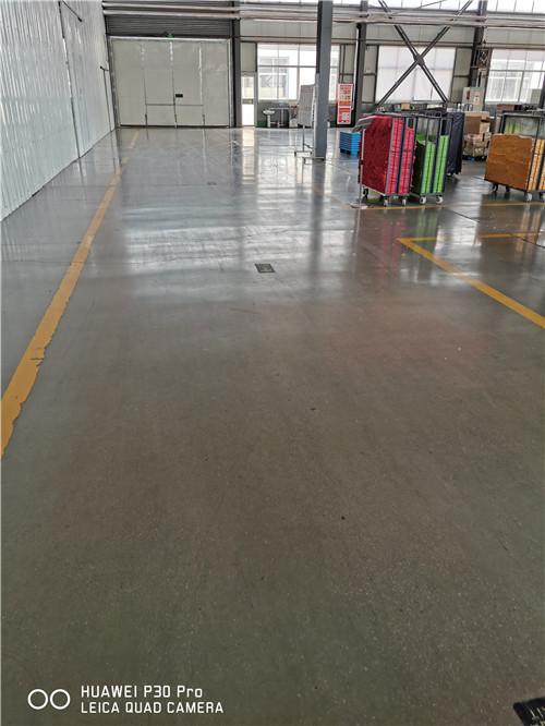 德州厂房固化地坪怎么做