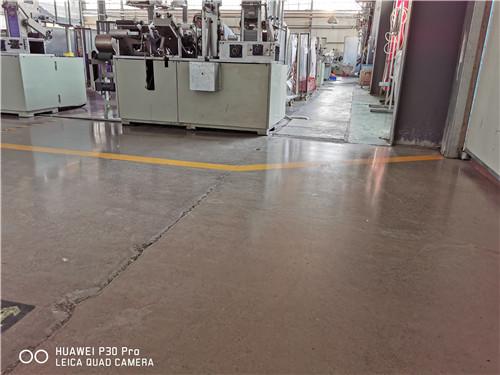 德州食品厂固化地坪