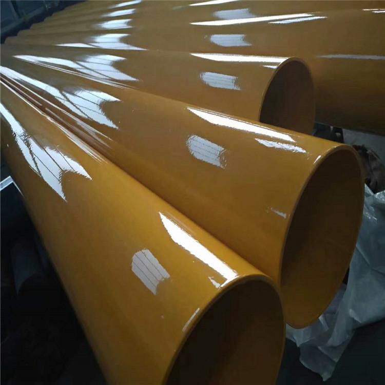 张家界内外涂塑环氧树脂钢管来图定做