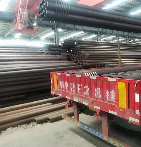 河源机械加工专用管16mn精密钢管定尺切割