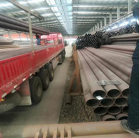 黑河聊城无缝钢管厂27simn液压支柱管厂家