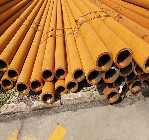 鹤壁45#大口径厚壁无缝管冷拉无缝钢管材质保证