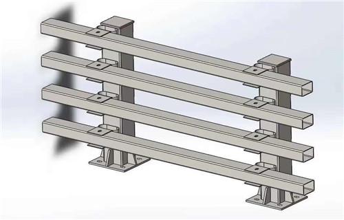 江门Q355B防撞护栏立柱价格