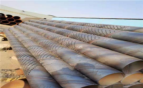 攀枝花螺旋式降水滤水管外径273 300降水井用管销售基地