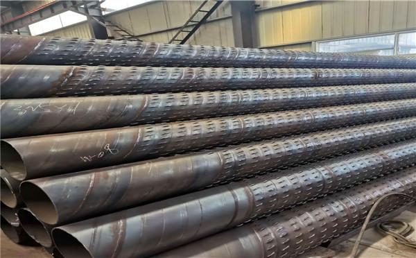 驻马店外径400mm螺旋式滤水管圆形绕丝滤水管大量现货