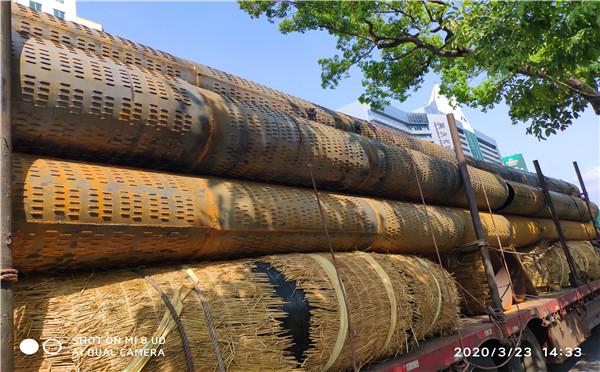 黑河地基降水用滤水管pvc井用滤水管加工厂家