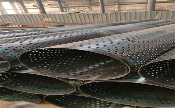 常州325*3*4圆孔滤水管农田打井专用滤水管质量可靠