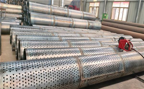 长春螺旋打井用滤水管273*6 500*4桥式滤水管生产工艺