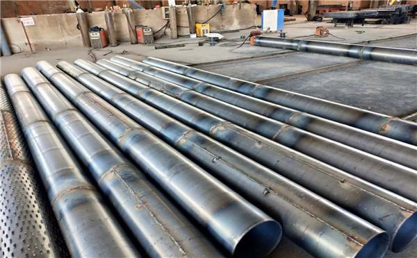 河源打井用碳钢滤水管219 273 300降水井用管批发厂家