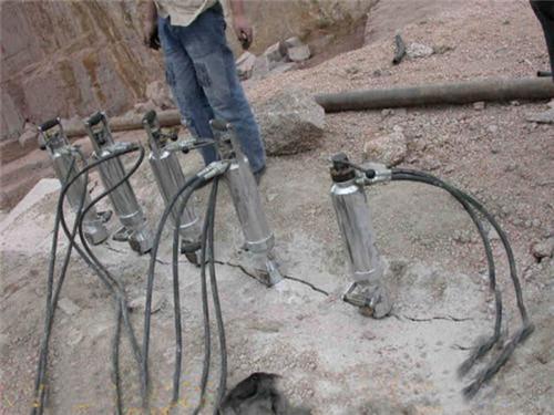 山东机载岩石分裂机矿山非开采
