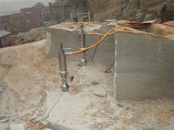 安康液压裂岩机开采石灰岩用哪种破碎机比较快