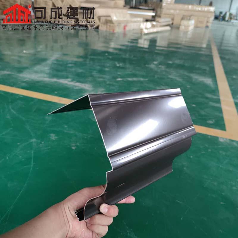 禹城彩铝落水管厂家