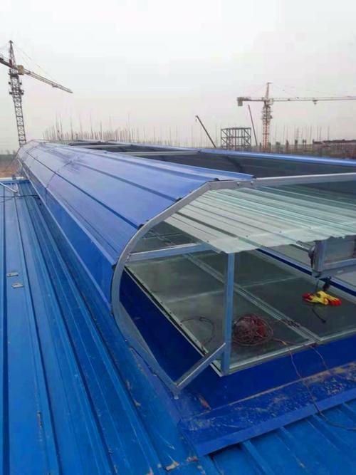 江苏省常州钢结构屋顶通风气楼图集