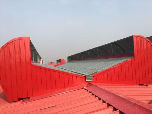 甘肃省天水钢结构厂房屋顶通风天窗规格