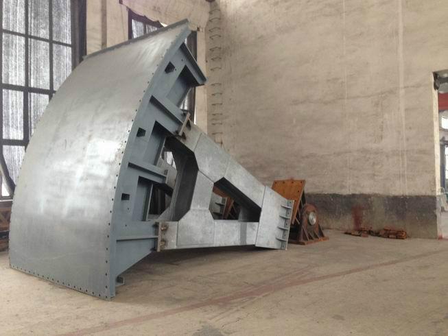 鹤壁组装式拱形铸铁闸门多少钱一个