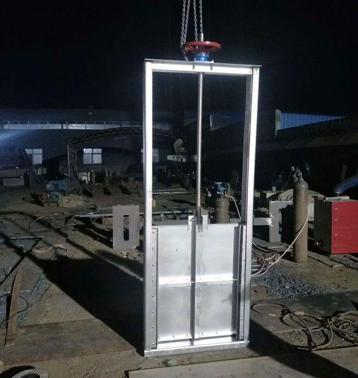 济南组装式拱形铸铁闸门多少钱一个
