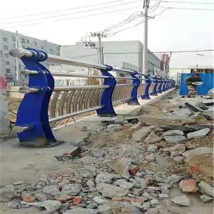 鹤壁天桥不锈钢护栏