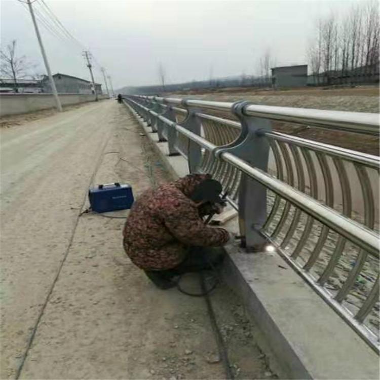 黑河桥梁钢管护栏