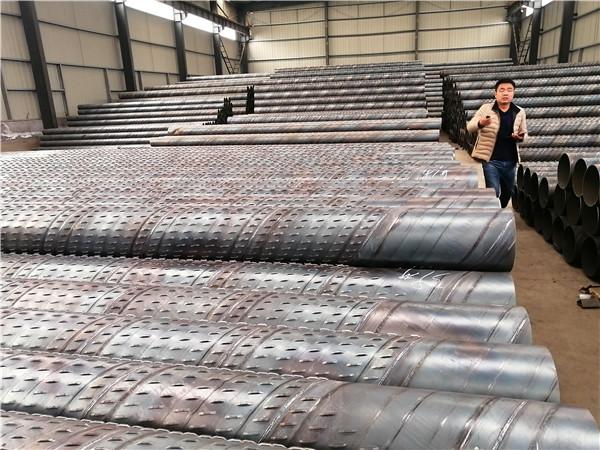 安康高强度螺旋桥式滤水管厂家圆孔式滤水管生产厂质量