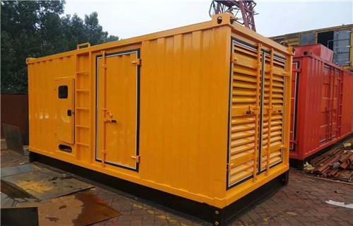 内蒙古出租奔驰发电机