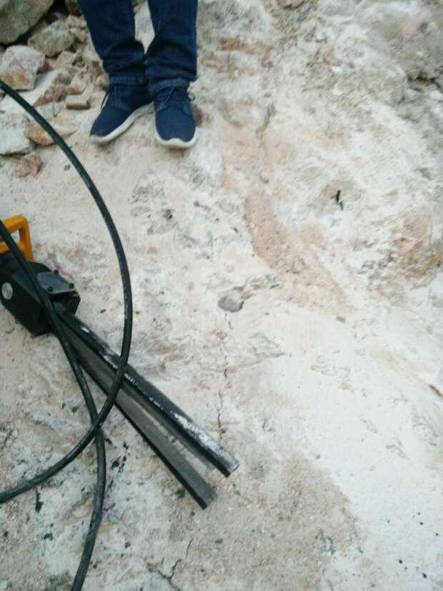 安徽蚌埠岩石液压劈裂棒厂家