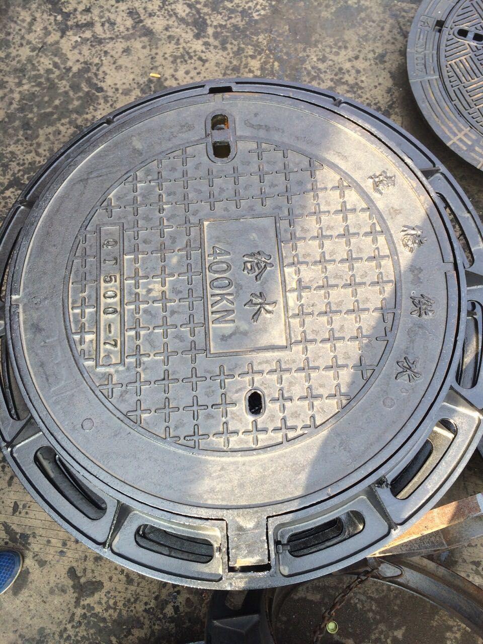 天水绿化带用圆600铸铁井盖超低价