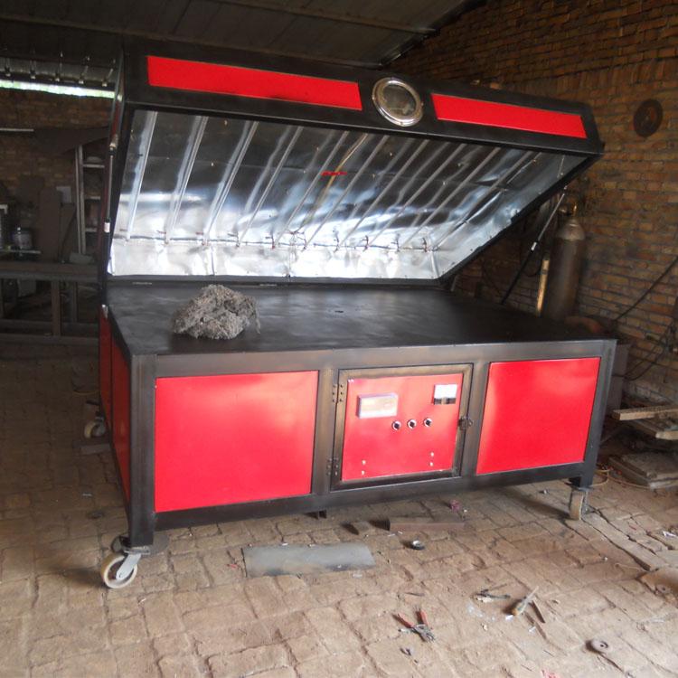 黑龙江黑河亚克力吸塑机价格 大烤箱分区加热