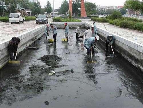 济南市章丘市沉淀池清理吸污