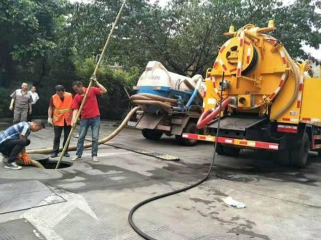 汉中市汉台县污水井疏通清掏电话高压清洗下水道