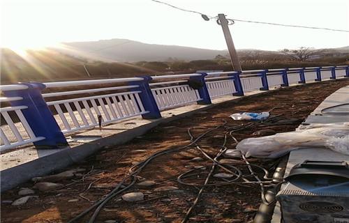 山东聊城桥梁防撞栏杆分类