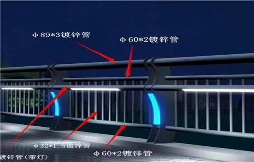 河北邯郸桥梁防撞栏杆简介