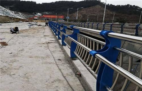 广东佛山127*4不锈钢复合管桥梁栏杆厂家在线报价