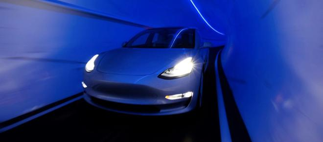 Boring将在即将推出的Loop地下公共交通系统中使用特斯拉Model S、Model X和Model 3三款车型
