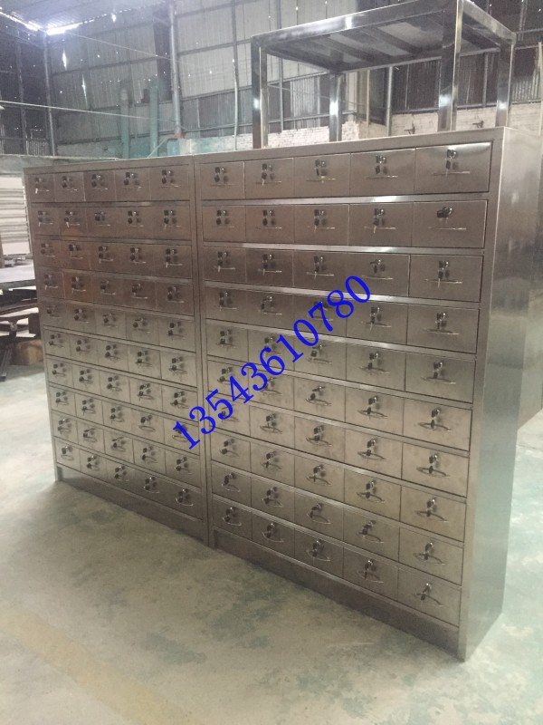 佛山不锈钢中药柜不锈钢办公柜定制不锈钢工作桌