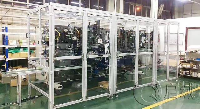 工业铝型材4040轻型工作台框架厂家供