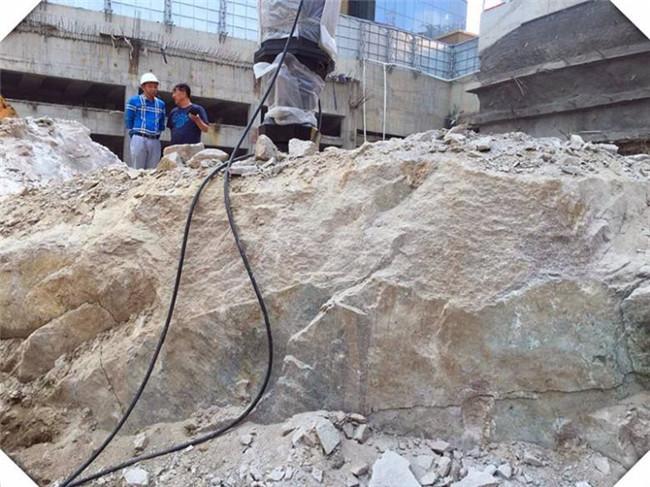 地基岩石破碎开挖用劈裂机淮安盐城