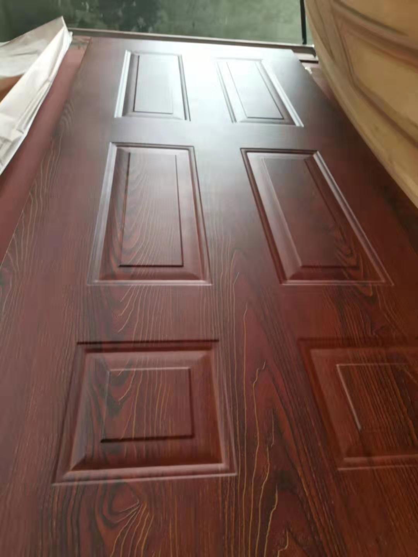 洛阳星高门业门扇木纹转印机华宜家制造