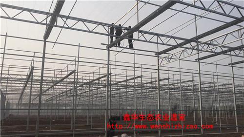 厂家直销简易温室大棚骨架配件 定制大棚钢管 坚实耐用