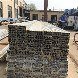 现货供应 温室大棚铝型材 玻璃温室铝合金型材配件 可开模定做