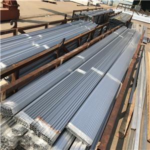长期供应 温室铝型材 铝合金外遮阳驱动边 阳光板温室铝材配件