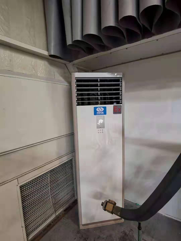 喷漆车间使用防爆空调等级是多少