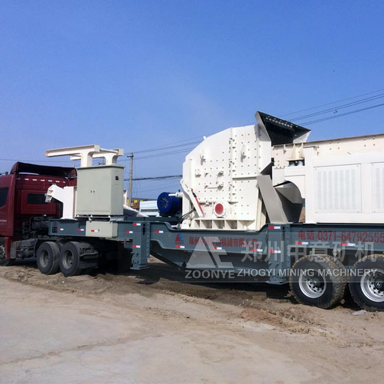 南宁推进建筑垃圾资源化处置 启动整套移动式破碎站设备
