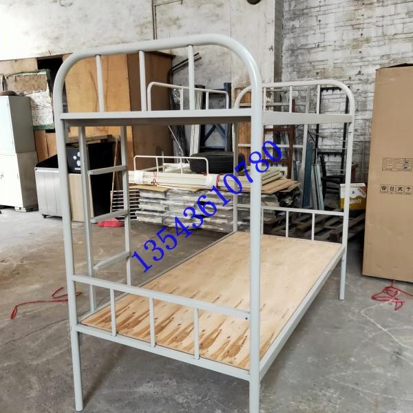 珠海上下铺铁床工地方管铁床铁板子母床工厂员工宿舍铁架床