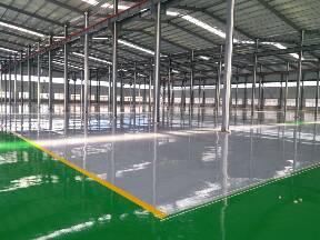 莱芜食品厂洁净环氧自流平 环氧地坪漆施工