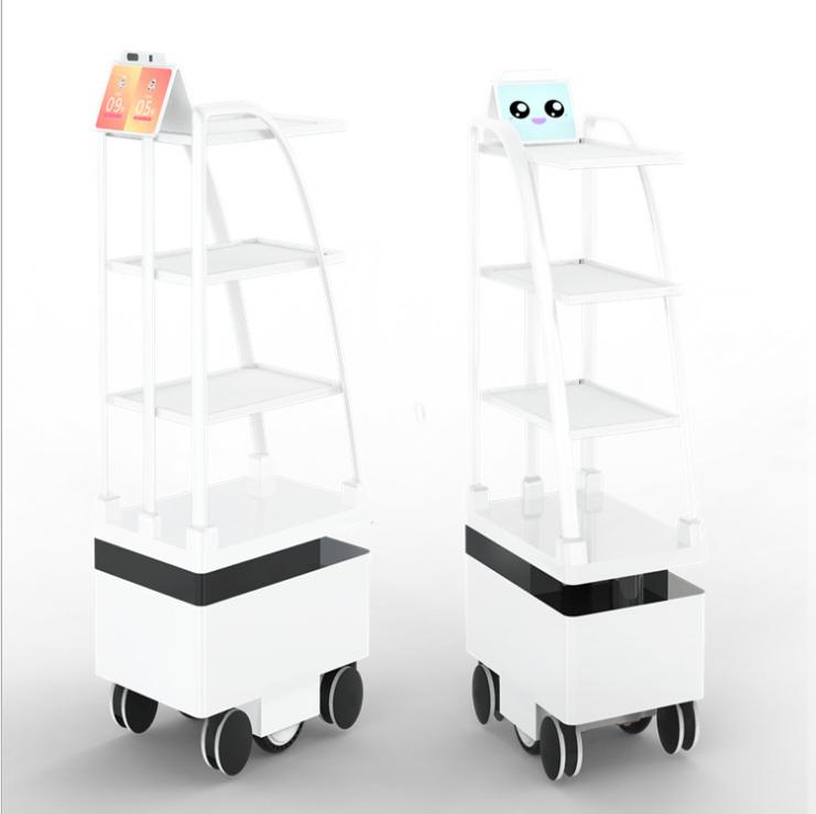 送餐机器人的工作原理 无轨送餐机器人 送餐机器人