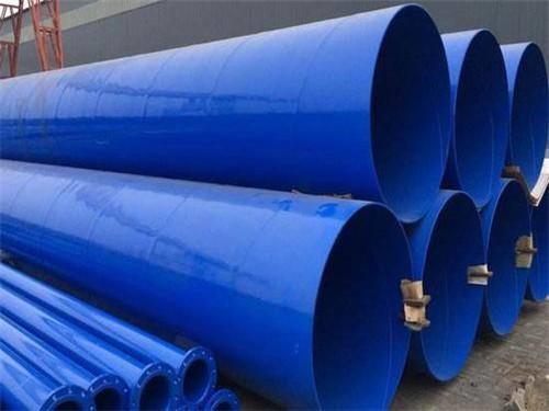 湖南湘潭螺旋钢管_给排水涂塑钢管_价格低