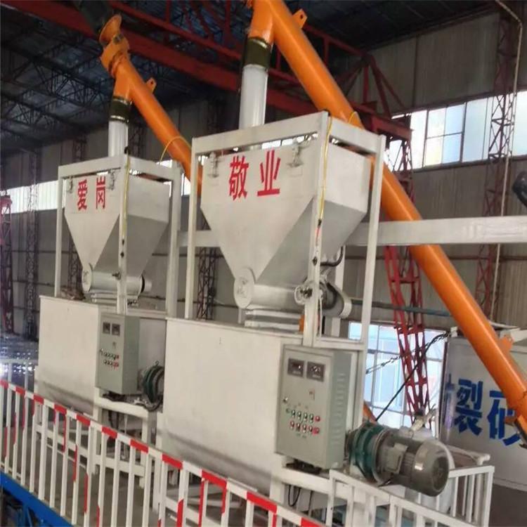 FS外墙防火板生产线设备厂家_沙浆复合一体板设备价格河南