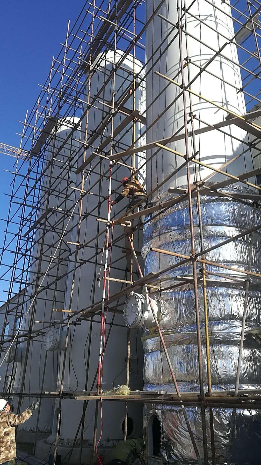 岩棉设备保温工程铝板罐体防腐保温施工